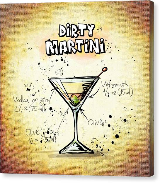 Dirty Martini Canvas Prints | Fine Art America