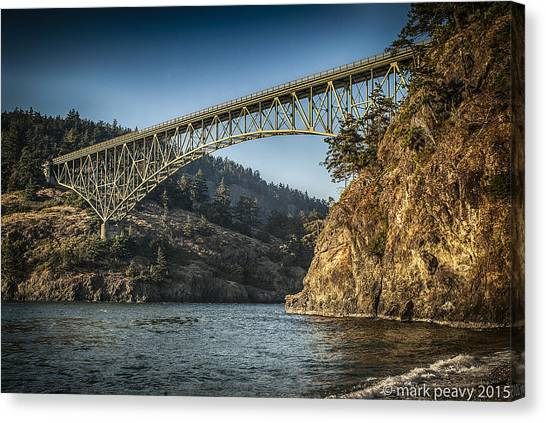 Disappointment Bridge Canvas Print