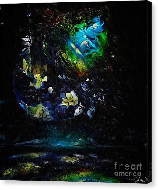 Disco Blown Canvas Print
