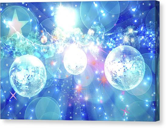 Manipulation Canvas Print - Disco Fever by Az Jackson