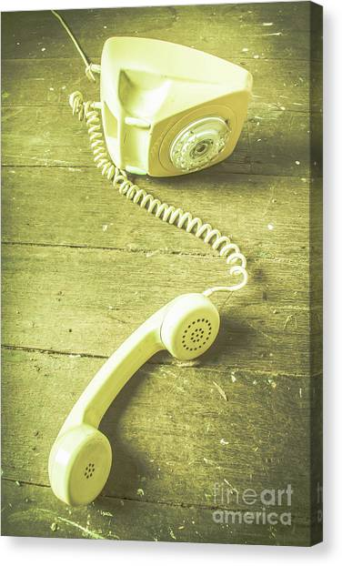Communications Canvas Print - Disconnected by Jorgo Photography - Wall Art Gallery