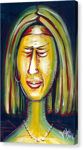 Disgustfull Canvas Print by Jose Julio Perez