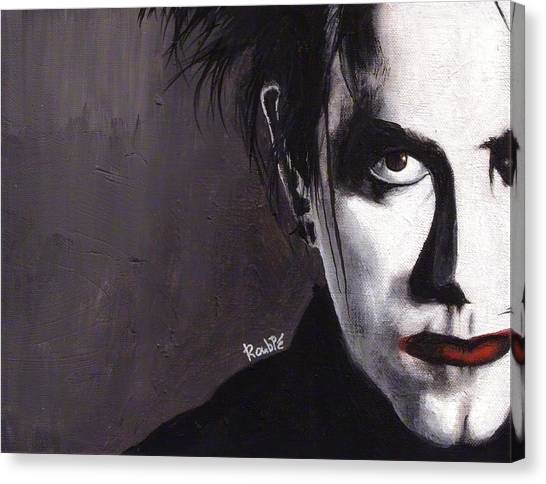 Robert Smith Music Canvas Print - Disintegrate by Rouble Rust
