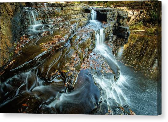 Dismal Creek Falls #2 Canvas Print