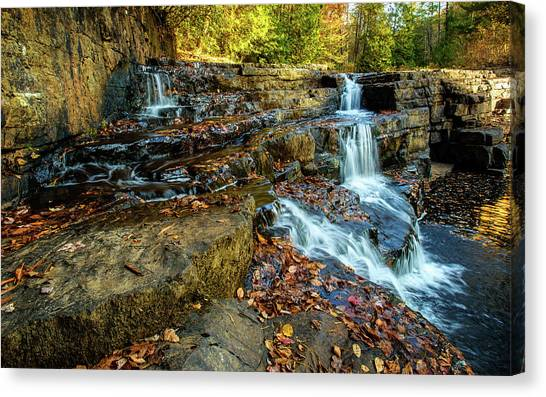 Dismal Creek Falls Horizontal Canvas Print