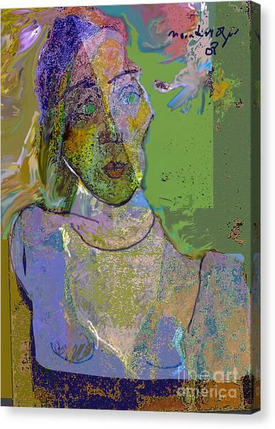 Dismay Canvas Print by Noredin Morgan