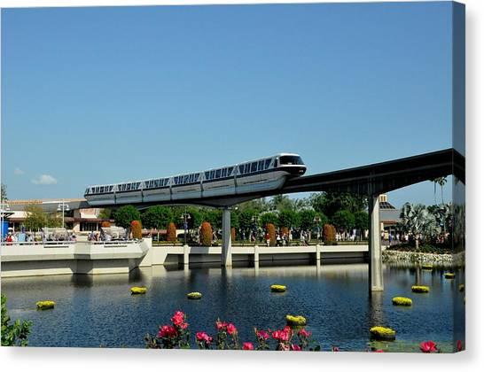 Disney Monorail Canvas Print