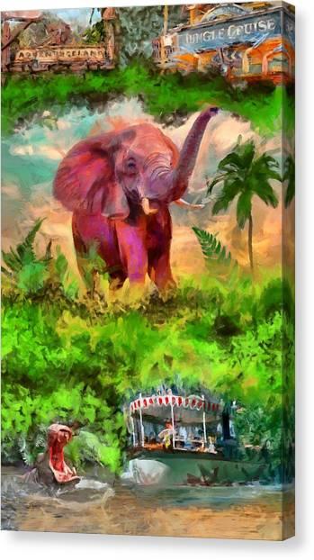 Disney's Jungle Cruise Canvas Print
