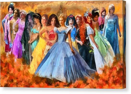 Disney's Princesses Canvas Print