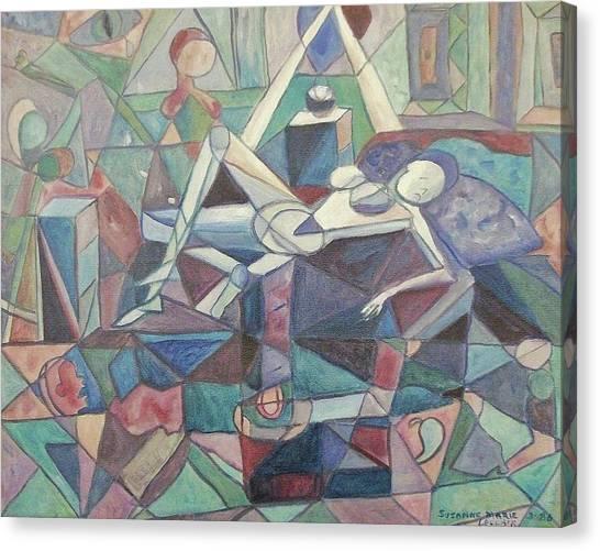 Dispair Canvas Print by Suzanne  Marie Leclair