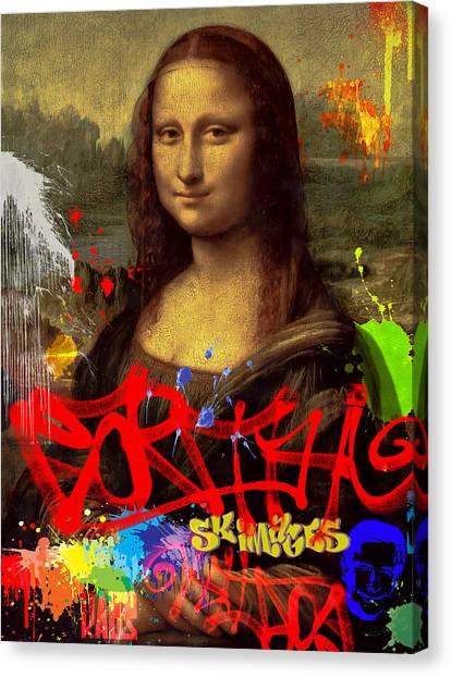 Disrespect Canvas Print