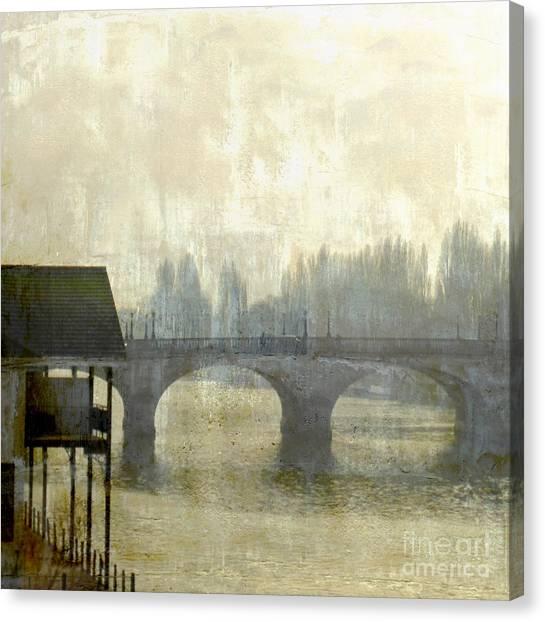 Dissolving Mist Canvas Print
