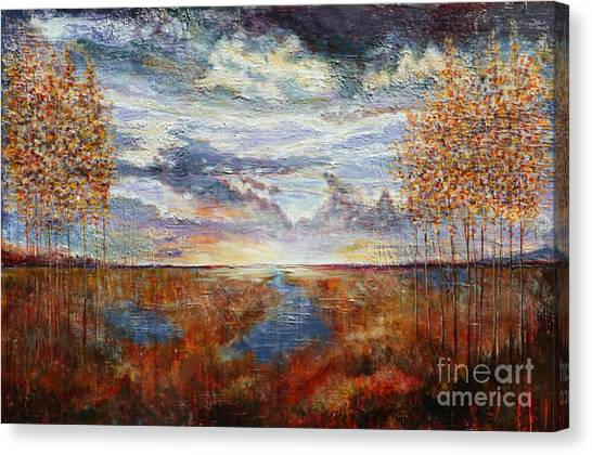 Distant Field Canvas Print