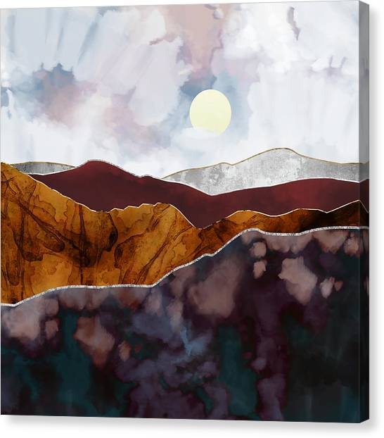 Landscapes Canvas Print - Distant Light by Katherine Smit