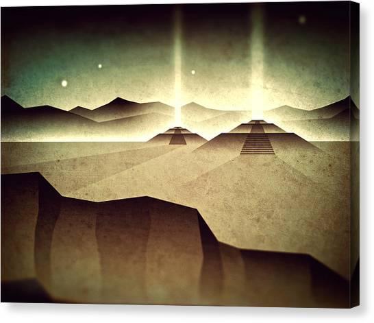 Distant Past Horizon Canvas Print