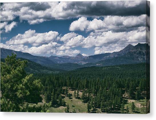 Canvas Print featuring the photograph Distant Windows by Jason Coward