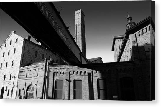 Distillery  Canvas Print by John Bartosik