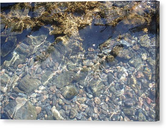 Distortion - Clear Waters Canvas Print