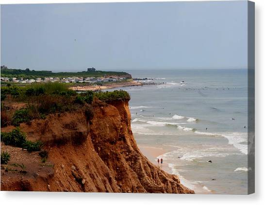Ditch Plains Montauk Canvas Print