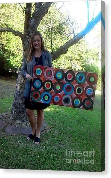 Diversity Circles Canvas Print