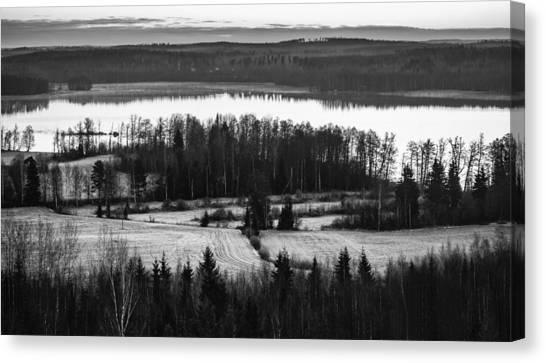 Divider Canvas Print by Matti Ollikainen