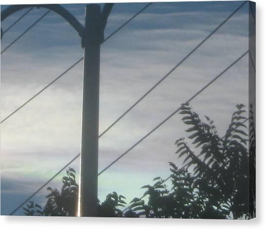 Dividing Lines Canvas Print by Jennifer Wall