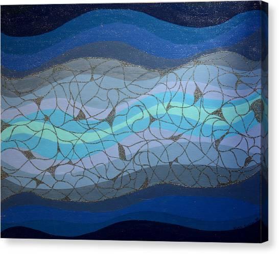Divine Flow Canvas Print