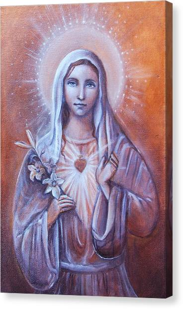 Divine Love Canvas Print by Vera Atlantia
