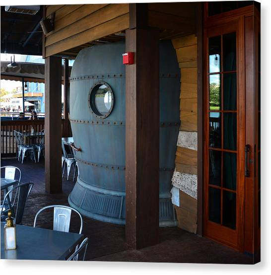 Diving Bell Canvas Print - Diving Bell Lounge Hb by David Lee Thompson