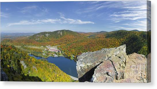 Canvas Print featuring the photograph Dixville Notch State Park - Dixville Notch New Hampshire  by Erin Paul Donovan