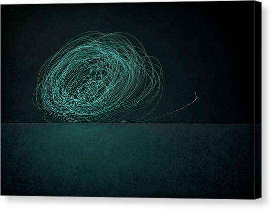 Moon Canvas Print - Dizzy Moon by Scott Norris
