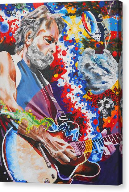 Grateful Dead Canvas Print - Dizzy With Eternity by Kevin J Cooper Artwork