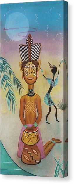 Djumbe Canvas Print by Sally Appleby