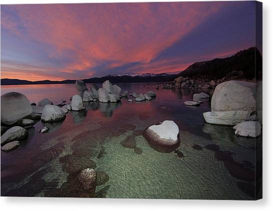 Canvas Print featuring the photograph Do You Have Vivid Dreams by Sean Sarsfield