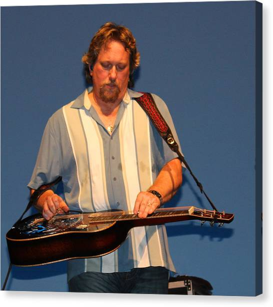 Dobro King Canvas Print by Wild Expressions Photography