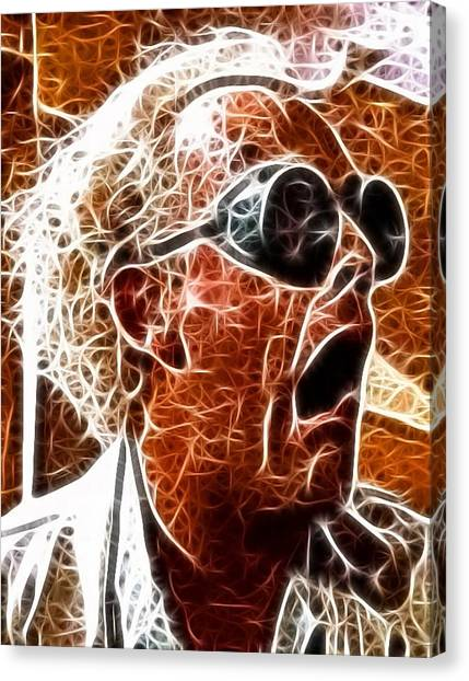 Back To The Future Canvas Print - Doc Brown Mistical by Paul Van Scott