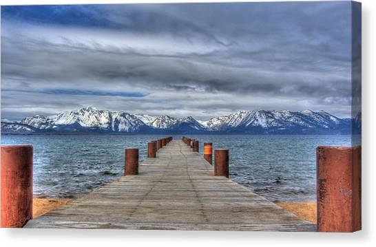 Dock Of Dreams Canvas Print
