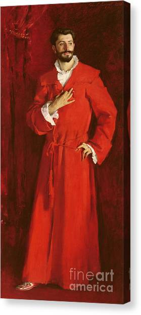 Gent Canvas Print - Doctor Pozzi At Home, 1881 by John Singer Sargent