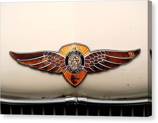 Dodge Brothers Emblem Canvas Print