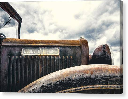 Rusty Truck Canvas Print - Dodge Brothers by Humboldt Street