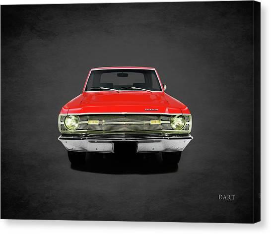 Dodge Canvas Print - Dodge Dart 340 by Mark Rogan