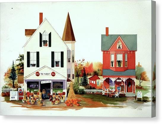 Dodges's Market Canvas Print by William Renzulli