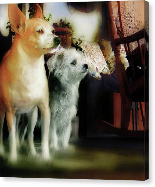 The Real Chiqui And Heichel Canvas Print