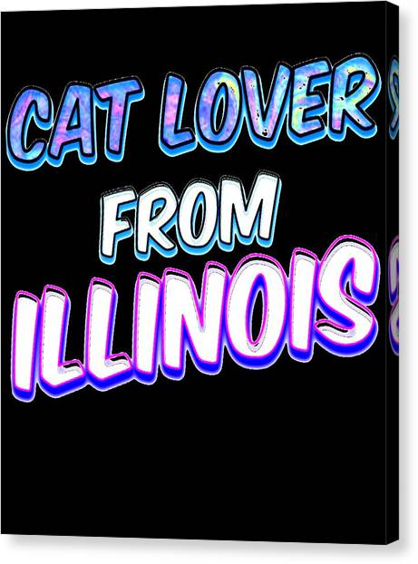 Ocicats Canvas Print - Dog Lover From Illinois by Kaylin Watchorn