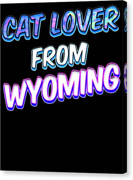 Ocicats Canvas Print - Dog Lover From Wyoming by Kaylin Watchorn
