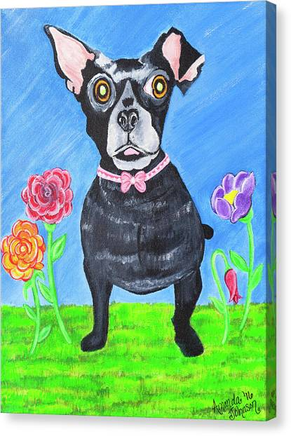 Doggone Delightful Canvas Print
