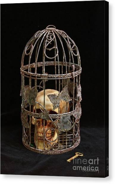 Fundamentalism Canvas Print - Dogmatic Enslavement Still Life by Dodie Ulery