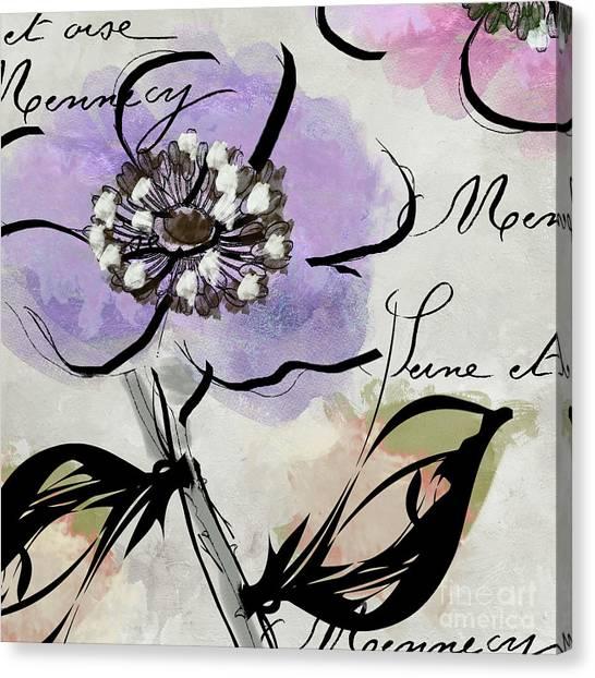 Dogwood Canvas Print - Dogwood II by Mindy Sommers
