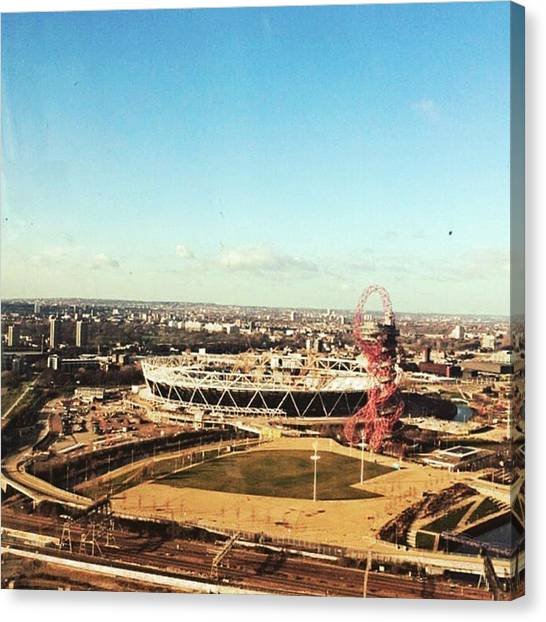 Hammers Canvas Print - Doing Some Afternoon Property Viewing by Samir B