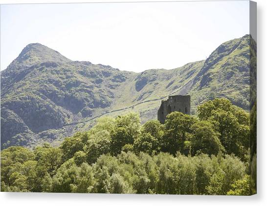 Dolbadarn Castle.  Canvas Print